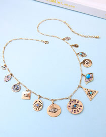 Fashion Gold Adjustable Necklace