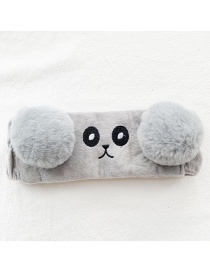 Fashion Gray Panda Ear Hair Band