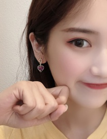 Fashion Main Color (love Earrings) Love Sequin Earrings
