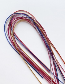 Fashion Solid Color String Mm (root) Gradient Rubber Band