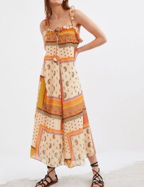 Fashion Color Printed Dress