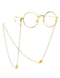 Fashion Gold Chain Gemstone Glasses Chain Reading Glasses Anti-lost Chain