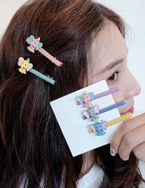 Fashion Pink Elephant/pink Clip Xiaofei Elephant Hairpin