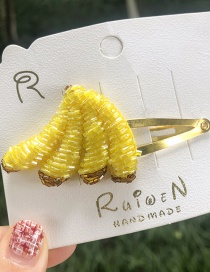 Fashion Banana Fruit Hair Clip