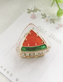 Fashion Watermelon Red Fruit Hair Clip