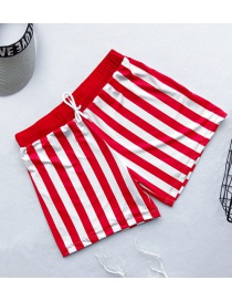 Fashion Male Red Beach Shorts