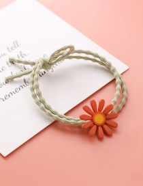Fashion Orange Flower Flower Daisy Rubber Band