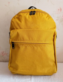 Fashion Yellow Lightweight Waterproof Backpack
