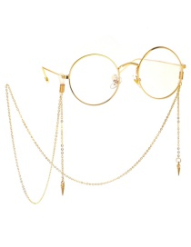 Fashion Gold Metal Rivet Glasses Chain