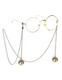 Fashion Bronze Eye Glasses Chain