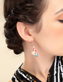 Fashion Color Dolphin Earrings