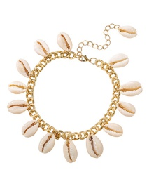 Fashion Gold Shell Anklet