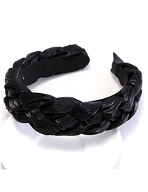 Fashion Black Cloth Twist Headband