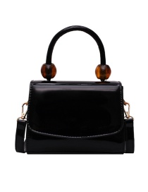Fashion Black Big Ball Portable Messenger Bag