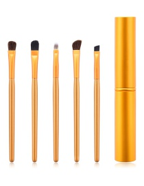 Fashion Gold 5-pack Eye Makeup Brush