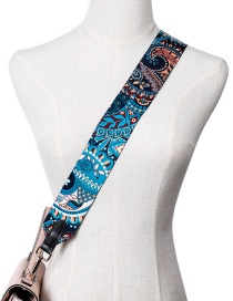 Fashion Blue Strap You Shoulder Strap Canvas Print Strap