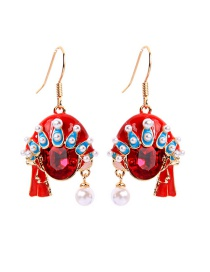 Fashion Short Ear Hook S925 Sterling Silver Pearl Face Earrings