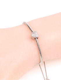 Fashion Silver Diamond Bracelet