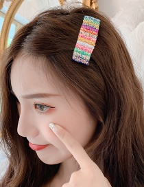 Fashion Color Sequin Hair Clip