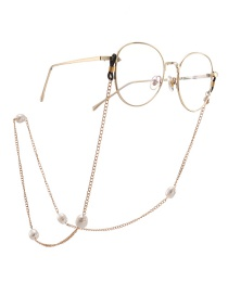 Fashion Gold Freshwater Pearl Glasses Chain