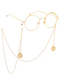Fashion Gold Non-slip Metal Life Tree Glasses Chain