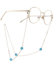 Fashion Gold Chain Cat Eye Glasses Chain