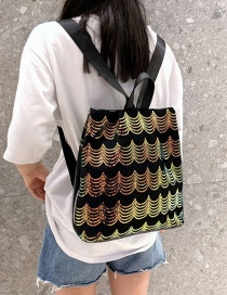 Fashion Color Sequin Anti-theft Backpack