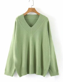 Fashion Green Pullover