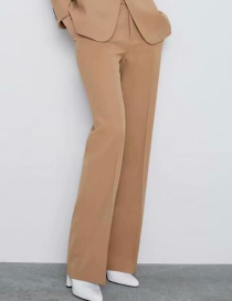 Fashion Khaki Trousers
