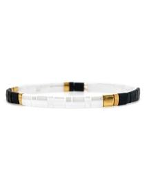 Fashion White Beaded Bracelet