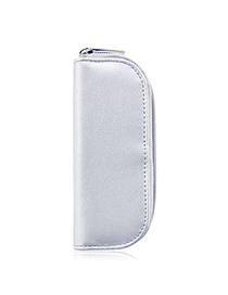 Fashion Silver Car Line Cosmetic Bag