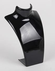 Fashion Black Transparent Acrylic Jewelry Display Stand