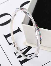 Fashion Color Heavenly Love Crystal Bracelet