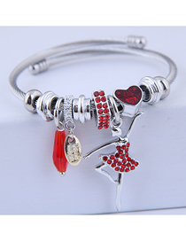 Pulsera De Ballet Flash Metal