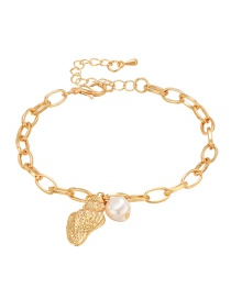 Fashion Gold Conch Pearl Bracelet
