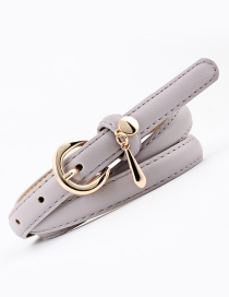 Fashion Gray Pendant Belt