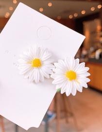 Fashion Hairpin [two Small Flowers] Daisy Hair Clip