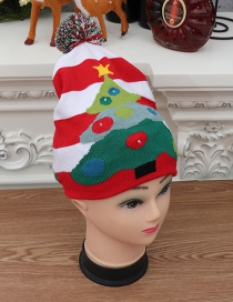 Fashion Knit Christmas Hat Colorful Shiny Knit Hat