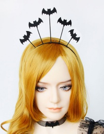 Fashion Black Bat Wings Headband