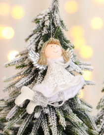 Fashion White Right Hand Holding Angel Christmas Ornaments
