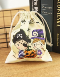 Fashion Pirate Witch Bundle Pocket Halloween Bunch Pocket Gift Bag