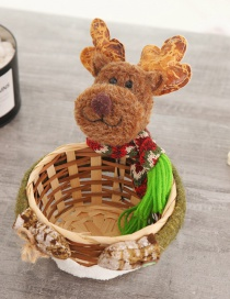 Fashion Small Elk Candy Basket Christmas Candy Basket