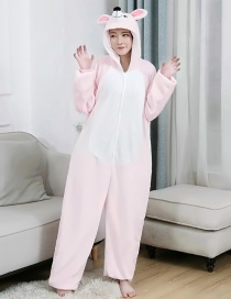 Eye Mouse Flannel Cartoon One-piece Pajamas