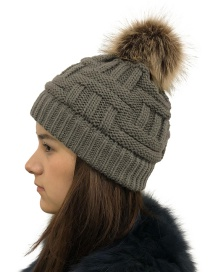 Fashion Dark Gray Without Cc Standard Wool Cap