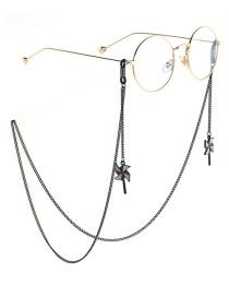 Cuello Colgante De Dibujos Animados Cadena De Molino De Viento Gafas Cadena