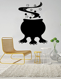 Fashion Multicolor Kst-28 Halloween Wall Sticker
