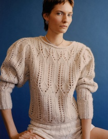 Fashion Beige Special Edition Sweater