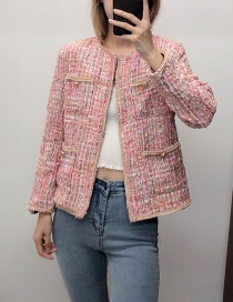 Fashion Pink Short Tweed