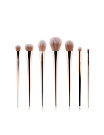 Fashion Zibinjin 7 - Purple Gold - Makeup Brush