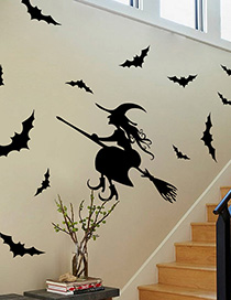 Fashion Multicolor Kst-2 Halloween Witch Wallpaper